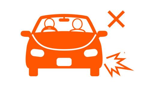 事例2友人が運転する車に同乗して事故に遭った